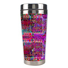 Technology Circuit Board Layout Pattern Stainless Steel Travel Tumblers by BangZart