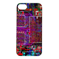 Technology Circuit Board Layout Pattern Apple Iphone 5s/ Se Hardshell Case