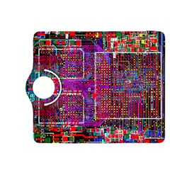 Technology Circuit Board Layout Pattern Kindle Fire Hdx 8 9  Flip 360 Case by BangZart