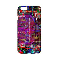 Technology Circuit Board Layout Pattern Apple Iphone 6/6s Hardshell Case by BangZart