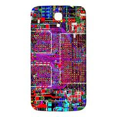 Technology Circuit Board Layout Pattern Samsung Galaxy Mega I9200 Hardshell Back Case