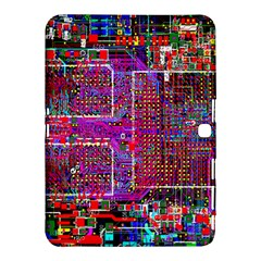 Technology Circuit Board Layout Pattern Samsung Galaxy Tab 4 (10 1 ) Hardshell Case  by BangZart
