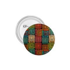Stract Decorative Ethnic Seamless Pattern Aztec Ornament Tribal Art Lace Folk Geometric Background C 1 75  Buttons by BangZart