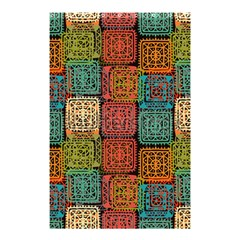 Stract Decorative Ethnic Seamless Pattern Aztec Ornament Tribal Art Lace Folk Geometric Background C Shower Curtain 48  X 72  (small)  by BangZart