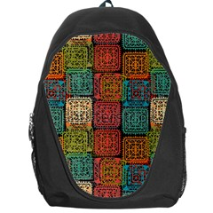 Stract Decorative Ethnic Seamless Pattern Aztec Ornament Tribal Art Lace Folk Geometric Background C Backpack Bag by BangZart