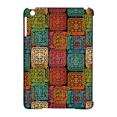 Stract Decorative Ethnic Seamless Pattern Aztec Ornament Tribal Art Lace Folk Geometric Background C Apple Ipad Mini Hardshell Case (compatible With Smart Cover) by BangZart