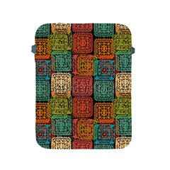 Stract Decorative Ethnic Seamless Pattern Aztec Ornament Tribal Art Lace Folk Geometric Background C Apple Ipad 2/3/4 Protective Soft Cases by BangZart