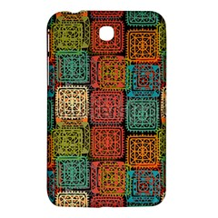 Stract Decorative Ethnic Seamless Pattern Aztec Ornament Tribal Art Lace Folk Geometric Background C Samsung Galaxy Tab 3 (7 ) P3200 Hardshell Case  by BangZart