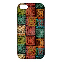Stract Decorative Ethnic Seamless Pattern Aztec Ornament Tribal Art Lace Folk Geometric Background C Apple Iphone 5c Hardshell Case