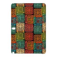 Stract Decorative Ethnic Seamless Pattern Aztec Ornament Tribal Art Lace Folk Geometric Background C Samsung Galaxy Tab Pro 12 2 Hardshell Case by BangZart