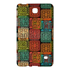 Stract Decorative Ethnic Seamless Pattern Aztec Ornament Tribal Art Lace Folk Geometric Background C Samsung Galaxy Tab 4 (7 ) Hardshell Case