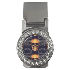 Skull Pattern Money Clips (cz)  by BangZart