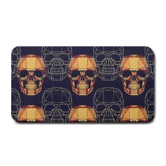 Skull Pattern Medium Bar Mats