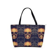 Skull Pattern Shoulder Handbags by BangZart