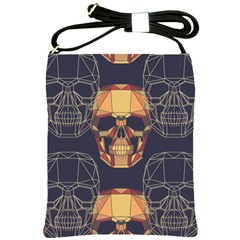 Skull Pattern Shoulder Sling Bags by BangZart