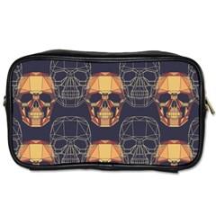 Skull Pattern Toiletries Bags by BangZart