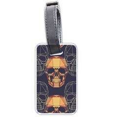 Skull Pattern Luggage Tags (one Side)  by BangZart