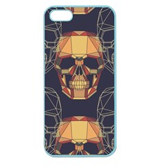 Skull Pattern Apple Seamless Iphone 5 Case (color)