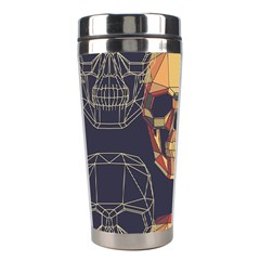 Skull Pattern Stainless Steel Travel Tumblers