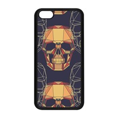 Skull Pattern Apple Iphone 5c Seamless Case (black) by BangZart