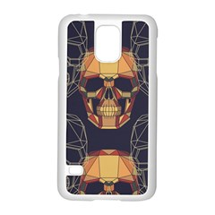 Skull Pattern Samsung Galaxy S5 Case (white)