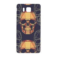 Skull Pattern Samsung Galaxy Alpha Hardshell Back Case