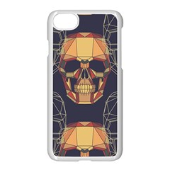 Skull Pattern Apple Iphone 7 Seamless Case (white) by BangZart