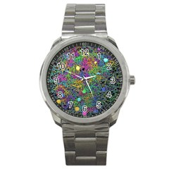 Starbursts Biploar Spring Colors Nature Sport Metal Watch by BangZart