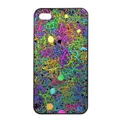 Starbursts Biploar Spring Colors Nature Apple Iphone 4/4s Seamless Case (black) by BangZart