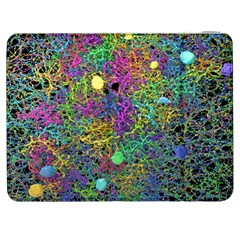Starbursts Biploar Spring Colors Nature Samsung Galaxy Tab 7  P1000 Flip Case