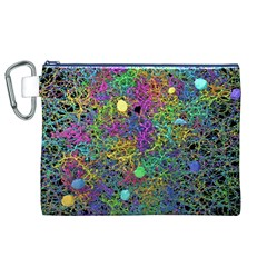 Starbursts Biploar Spring Colors Nature Canvas Cosmetic Bag (xl) by BangZart