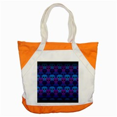 Skull Pattern Wallpaper Accent Tote Bag by BangZart