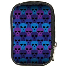 Skull Pattern Wallpaper Compact Camera Cases by BangZart