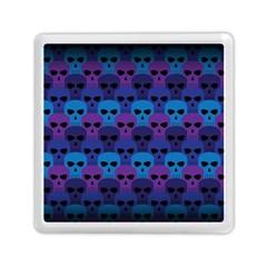 Skull Pattern Wallpaper Memory Card Reader (square)  by BangZart