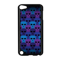 Skull Pattern Wallpaper Apple Ipod Touch 5 Case (black) by BangZart