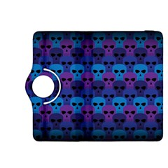 Skull Pattern Wallpaper Kindle Fire Hdx 8 9  Flip 360 Case by BangZart