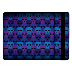 Skull Pattern Wallpaper Samsung Galaxy Tab Pro 12 2  Flip Case