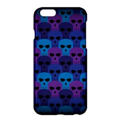 Skull Pattern Wallpaper Apple Iphone 6 Plus/6s Plus Hardshell Case by BangZart