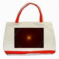 Spiral Vintage Classic Tote Bag (red)