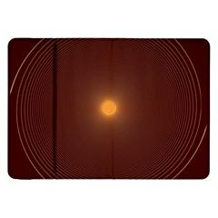 Spiral Vintage Samsung Galaxy Tab 8 9  P7300 Flip Case by BangZart