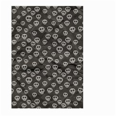 Skull Halloween Background Texture Large Garden Flag (two Sides) by BangZart