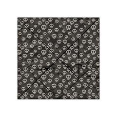 Skull Halloween Background Texture Acrylic Tangram Puzzle (4  X 4 )
