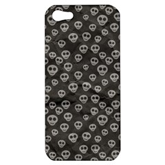 Skull Halloween Background Texture Apple Iphone 5 Hardshell Case