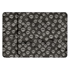 Skull Halloween Background Texture Samsung Galaxy Tab 8 9  P7300 Flip Case by BangZart