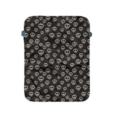 Skull Halloween Background Texture Apple Ipad 2/3/4 Protective Soft Cases by BangZart