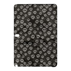 Skull Halloween Background Texture Samsung Galaxy Tab Pro 10 1 Hardshell Case