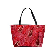 Red Peacock Floral Embroidered Long Qipao Traditional Chinese Cheongsam Mandarin Shoulder Handbags by BangZart
