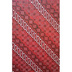 Red Batik Background Vector 5 5  X 8 5  Notebooks by BangZart