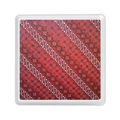 Red Batik Background Vector Memory Card Reader (square)