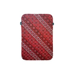 Red Batik Background Vector Apple Ipad Mini Protective Soft Cases by BangZart